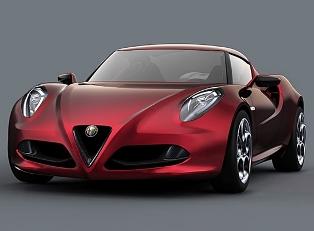 Спорткар Alfa Romeo 4C скоро