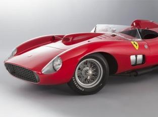 Продан уникальный автомобиль Ferrari