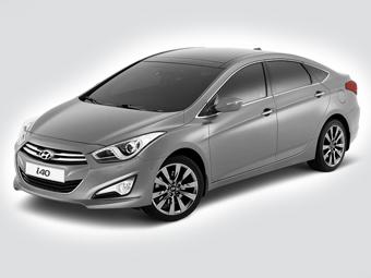 Новый седан марки Hyundai