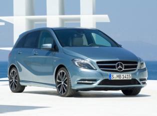 Mercedes представил обновленный B-класс