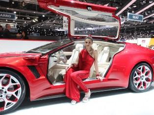 Открытие в Женеве автосалона 2012