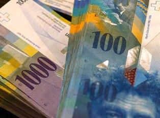 Швейцарский франк взлетел