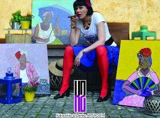 Выставка в Киеве «Saludo Cuba»