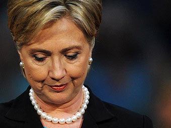Хиллари Клинтон произнесла речь