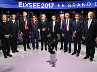 Предвыборные дебаты Франции