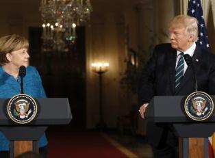 Трамп и Меркель договорились