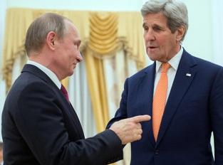Встреча в Москве: Путин и Керри