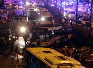 Жуткий теракт в центре Анкары