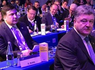 Саакашвили снова оконфузился