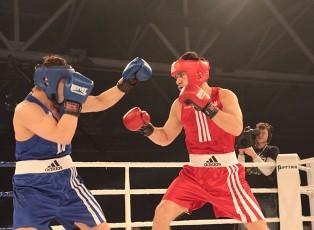 Боксеры Украины на арене «Терминала»